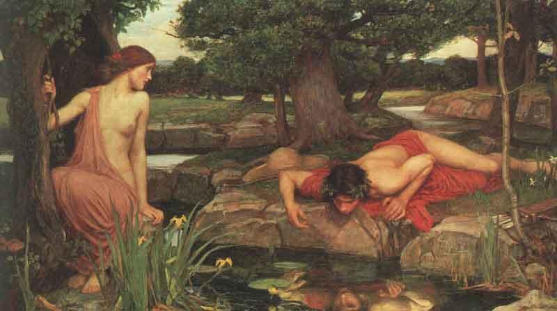 Echo et Narcisse, J.W. Waterhouse, 1903