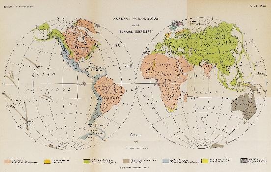 Analyse schématique de la surface terrestre